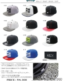 HOLLY SNAP BACK CAP 発売のお知らせ